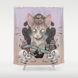 Sphynx Shower Curtain