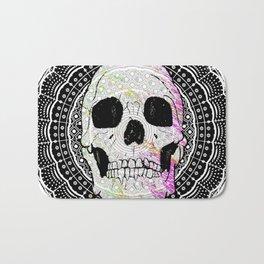 Sugar Skull Mandala Bath Mat