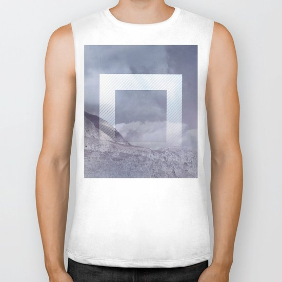 The Portal between the Mountains Biker Tank