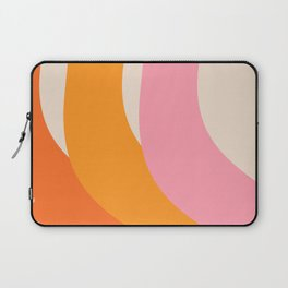 70s summer colors - art, interior, drawing, decor, design, bauhaus, abstract, decoration, home, gift Laptop Sleeve