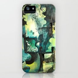 Sleeping to dream. iPhone Case