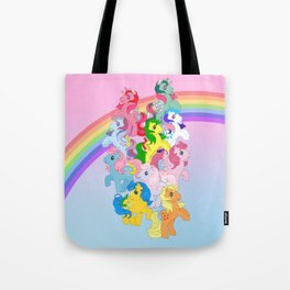 retro g1 my little pony Tote Bag