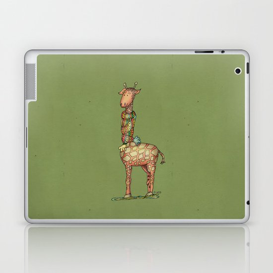 Cleo - green Laptop & iPad Skin
