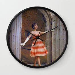 Out of these Waters Wall Clock