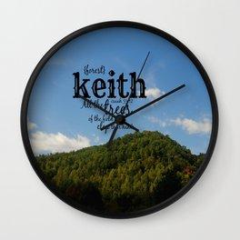Keith Wall Clock