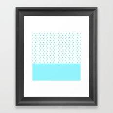 DOUBLE DOTS Framed Art Print