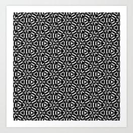 Moroccan Weave Art Print