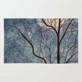 Winter Tree (Moon) Rug