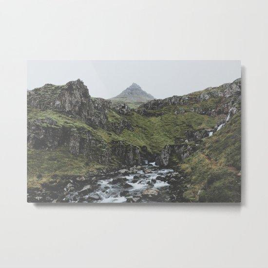 Mjóifjörður, Iceland II Metal Print