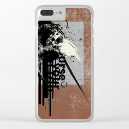 Many Grains of Salt Clear iPhone Case