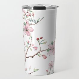 Apple Blossom 2 #society6 #buyart Travel Mug