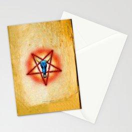 NATIVE PENTAGRAM - 018 Stationery Cards