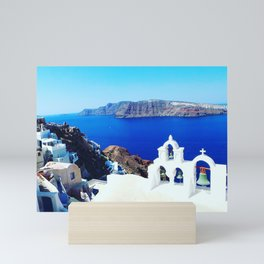 Oia Santorini Mini Art Print