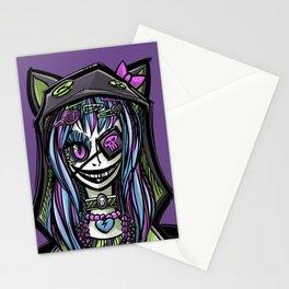 Scary Harajuku Girl Stationery Cards