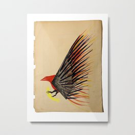 Sushi Delivery Metal Print