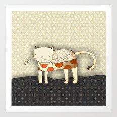 Venus the Cat Art Print