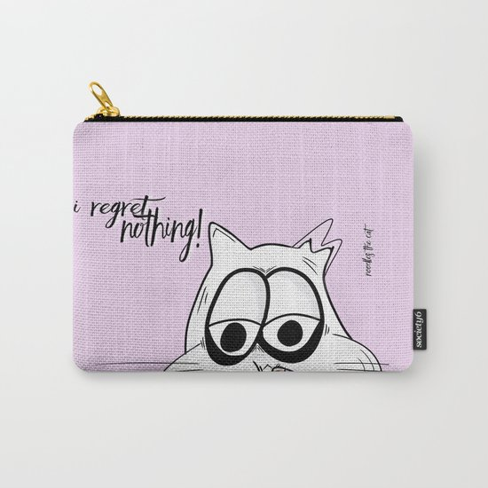 Noodles the Cat regrets nothing! Carry-All Pouch