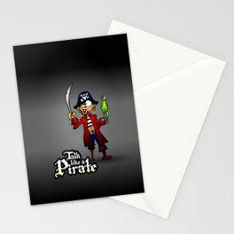 Talk like a Pirate Stationery Cards