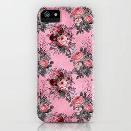 Gothic Floral Garden iPhone Case