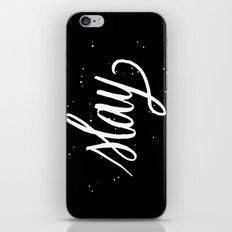 Slay iPhone & iPod Skin