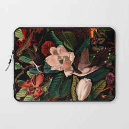 FLORAL AND BIRDS XIV Laptop Sleeve