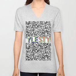 Style Style Stylish Pop Art Pattern Unisex V-Neck