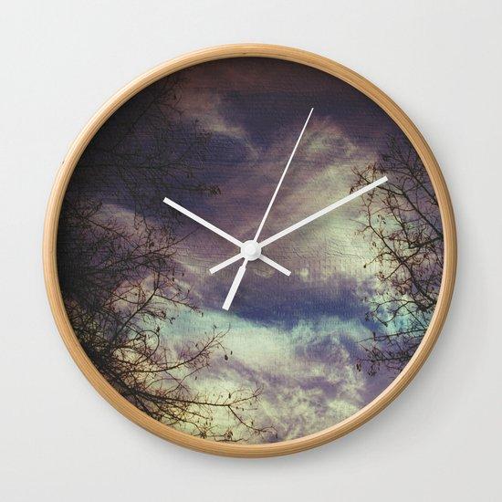 remember autumn Wall Clock