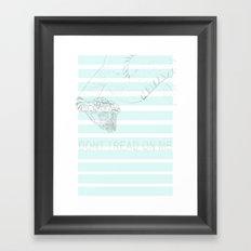 The Snake Framed Art Print