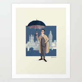 mr. Grant Art Print