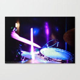 Drums of Heaven Canvas Print