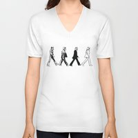 stormtrooper V-neck T-shirts featuring Stormtrooper by kohwasop