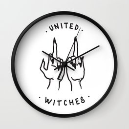 United Witches Wall Clock