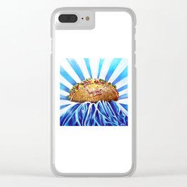 Taco Love Forever Clear iPhone Case