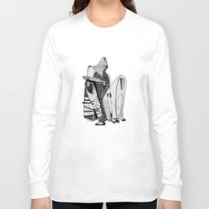 Wait, it's gonna be interesting (touch the ground) - Emilie Record Long Sleeve T-shirt