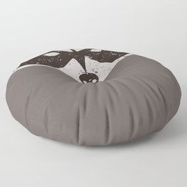 Rocket Raccoon - Log Trap Floor Pillow
