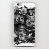 horror iPhone & iPod Skins featuring Horror by Sinister Star