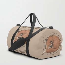 Sleeping Fox Duffle Bag