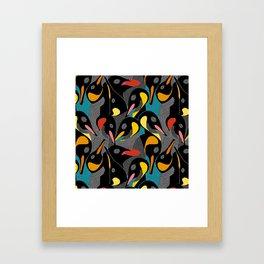 Penquins Framed Art Print
