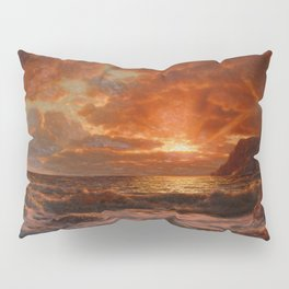 Sunrise over the Sea by Ivan Fedorovich Choultsé Pillow Sham