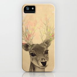 Electro-deer iPhone Case