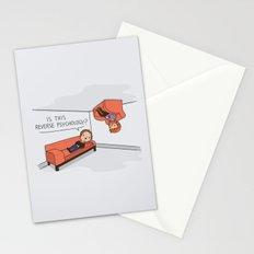 Psicología Inversa Stationery Cards