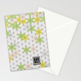 Asanoha pattern Stationery Cards