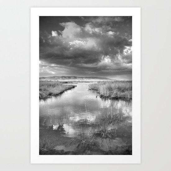 Before the big storm Art Print