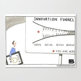 Innovation Funnel Canvas Print