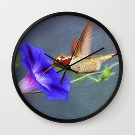 Seasons End Wall Clock