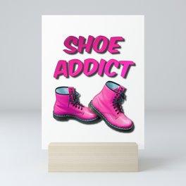 Shoe Addict Mini Art Print