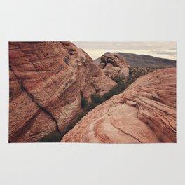 Desert mountain Rug