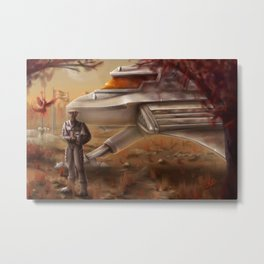 New Discovery Metal Print