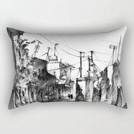 Rhodes backalley Rectangular Pillow
