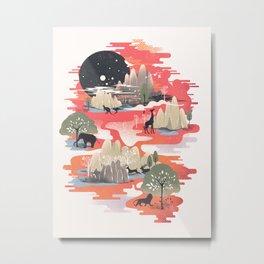 Landscape of Dreams Metal Print